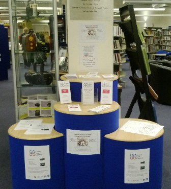 Volunteering Stand at Library
