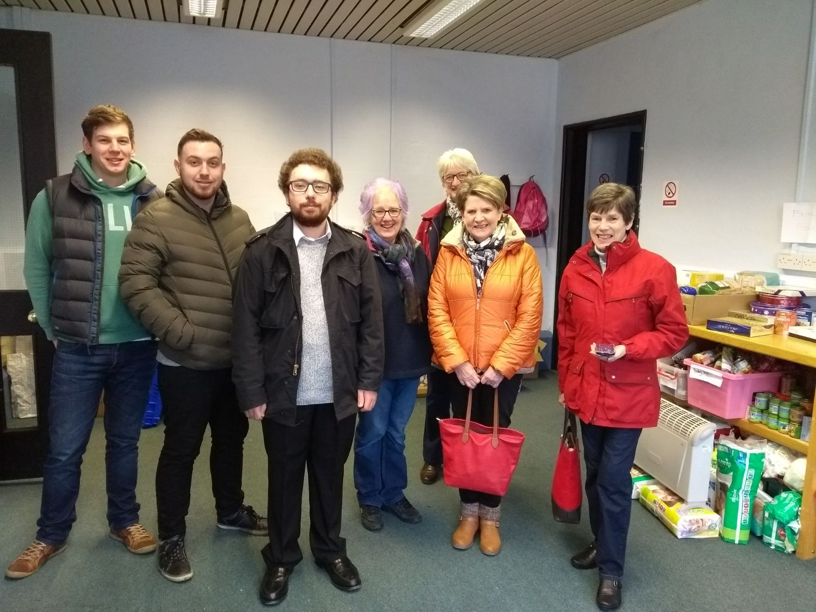 Volunteers Visit To Carlisle Foodbank Cumbria Law Centre